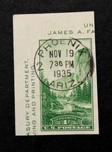 US Stamp Sc# 751a Used with SON Phoenix Ariz Cancel Nov 19, 1935 - $9.99