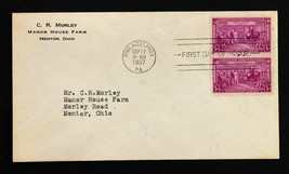 US Stamp Sc # 798 FDC Constitution Sesquicentennial Issue Sept. 17, 1937 - $7.91
