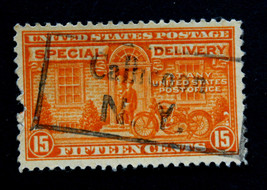 "US Stamp Sc# E16 Used Special Delivery Box Cancel ""Callicoon N.Y."" Tiny ... - $15.99"
