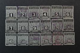 US Postal Note Stamps SC# PN1-PN18 Used Complete Set - $19.98