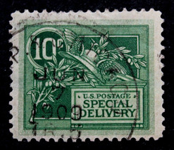 US Stamp Sc# E7 Canceled 6 Months After Issue JUN 7, 1909  Special Delivery - $50.99