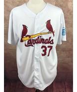 2006 Inaugural Season SGA St. Louis Cardinals #37 Suppan Jersey White Me... - $16.83
