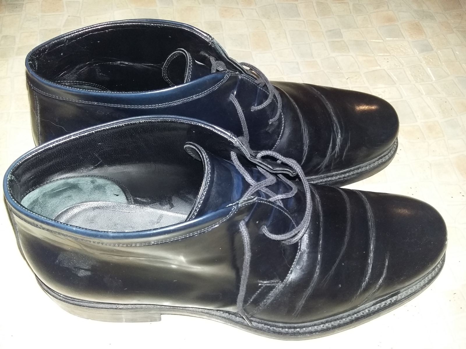 988e1c7a3615c Mens Salvatore Ferragamo Black Leather Shoes Made In Italy Dress in Luxury  - $129.99
