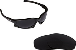 New SEEK OPTICS Replacement Lenses Oakley SPLIT JACKET - Polarized Grey - $18.30
