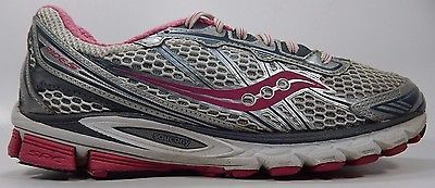 Saucony Ride 5 Women's Running Shoes Size US 8 M (B) EU 39 Silver Pink 10156-1