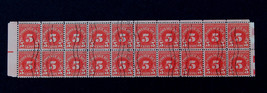 US Stamp- Sc #J83 Block of 20 Mint Canceled by Postmaster Full Shiny Gum - $169.00