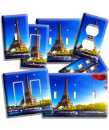 EIFFEL TOWER PARIS CITY OF LOVE LIGHT SWITCH WALL PLATE OUTLET LIVING ROOM DECOR - $7.99 - $14.39