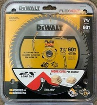 "DEWALT DWAFV3760 7-1/4"" x 60 Tooth Carbide Circular Saw Blade - $22.77"