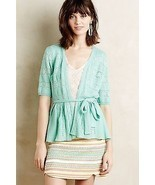 NEW NWT Anthropologie Lace Stitch Cardigan by K... - $67.88 CAD