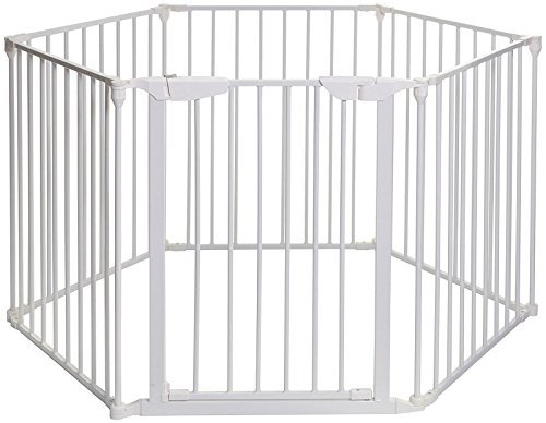 Mayfair Converta 3 in 1 Play-Pen 6 Panel Gate, White
