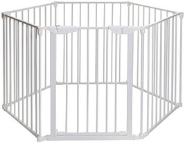 Mayfair Converta 3 in 1 Play-Pen 6 Panel Gate, White - $139.99
