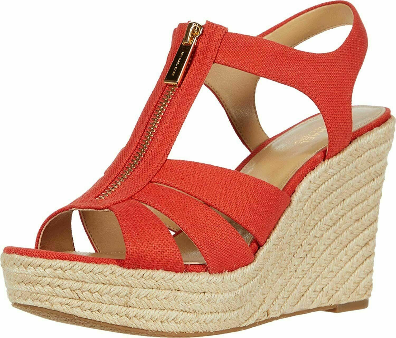 Michael Michael Kors Berkley Espadrille Wedge Sandals Size 8.5 - $113.84