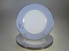 Royal Worcester Kimono Bread & Butter Plates Set of 4 - $45.49