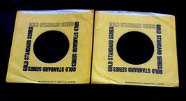 (2) VTG RCA 45 RPM Gold Standard Series Vinyl Wax Record Protector Sleev... - $14.83