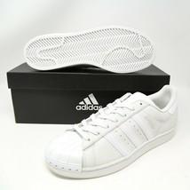 Adidas Superstar Coque Orteil BY3174 Nuage Blanc Gris New York Nyc Basketball - $124.36