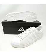 Adidas Superstar Coque Orteil BY3174 Nuage Blanc Gris New York Nyc Baske... - $126.12