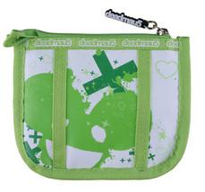 Deadmau5 Deadmouse Deadmaus Verde e Bianco con Zip Portamonete Portafoglio Nuovo