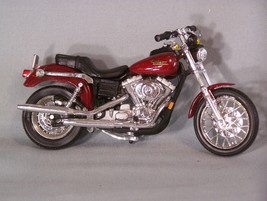 Harley Davidson Motorcycle (Red) 1:18 Scale Diecast Maisto - $31.54