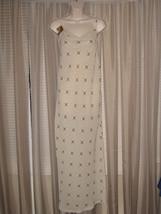 M Tube Spaghetti Strap Summer Event Dimond Pattern  Flowy Medium Dress C... - $29.99