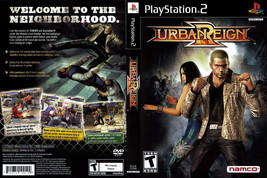 Urban Reign CUSTOM PS2 CASE (NO GAME!!!!!!!!) - $5.64