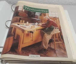 18 Woodsmith magazines early 90's late # 70's to late # 80's and more - $17.81