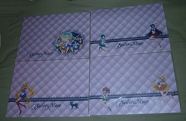 RARE SAILOR MOON CRYSTAL PLACE MAT NOT FOR SALE POSTER SET OF 4 PLACEMAT - $100.98