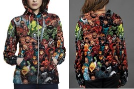 Hoodie Zipper womens Super Hero Marvel - $46.70+