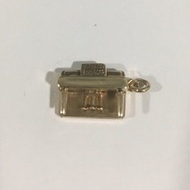 14k Yellow Gold Vintage Piano Charm - $117.81