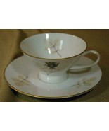 Rosenthal Shadow Rose Cup And Saucer  #3686 - $8.99