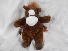 Horse Plush Backpack 18 High by Unipak - $25.98