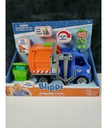 BLIPPI Talking Recycling Truck Garbage Recycle Vehicle New Release Gift ... - $32.36