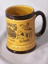 "Wall Drug Badlands South Dakota souvenir coffee cup approx 4"" tall - $5.95"