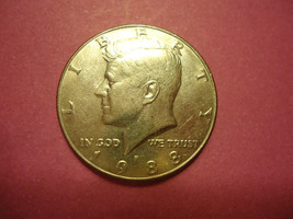 1988   HALF DOLLAR - $1.98
