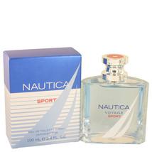Voyage Sport by Nautica Eau De Toilette  3.4 oz, Men - $19.34