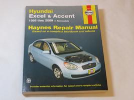 Hyundai Excel & Accent Haynes Repair Manual 43015 1986-2009 Maintenance ... - $25.73