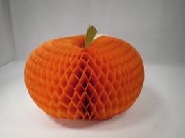 Large Hallmark Thanksgiving Fall Paper Honeycomb Pumpkin Centerpiece Dec... - €3,77 EUR