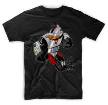Dark Wing Duck Gizmoduck Men Black T-Shirt Tee - $17.99