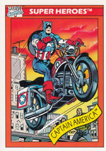 Captain America 1990 Marvel Comics Card #31 - $0.99