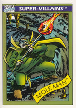 Mole Man 1990 Marvel Comics Card #68 - $0.99