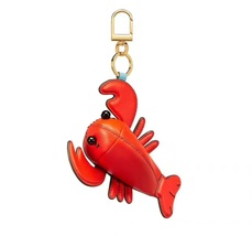 Tory Burch Luke The Lobster Pouch Key Fob - $85.00