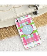 Preppy Plaid iPhone Case with white trim - $22.03