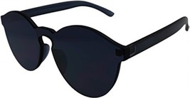 J and L Glasses Transparent Rimless Ultra-Bold Candy Color Sunglasses (B... - $29.96