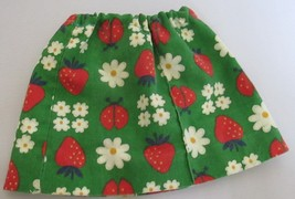 "Floral Cotton Skirt for American Girl Doll AG Doll 18"" Doll - $3.75"