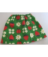 "Floral Cotton Skirt for American Girl Doll AG Doll 18"" Doll - $9.75"
