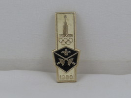 1980 Summer Olympic Games Pin - Fencing Event - Metal Pin  - $19.00