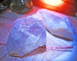Haunted AMETHYST CRYSTAL HEAL & EMPOWER MAGICK ONE CRYSTAL Cassia4  - $12.00