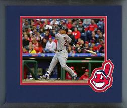 Michael Brantley 2016 Cleveland Indians - 11 x 14 Team Logo Matted/Framed Photo - $42.95