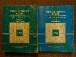 1991 FORD RANGER EXPLORER AEROSTAR Service Shop Repair Manual SET FACTOR... - $98.91