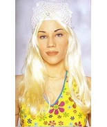LONG BLONDE MALE OR FEMALE HIPPIE WIG  - $20.00