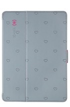 NEW Speck StyleFolio Grey Hearts for All iPad M... - $13.09